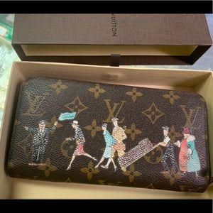 Louis Vuitton Zippy Illustre Long Limited Edition